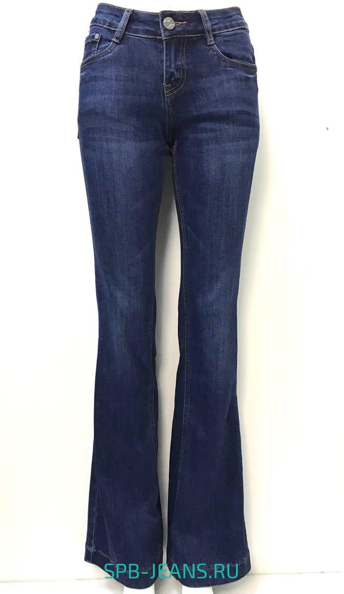 74e6dacc9b6 Женские джинсы клёш Blue Group 4014 купить в СПб